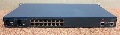 Avocent Cyclades ACS16DAC Advanced 16-Port Console Server 2 PSU